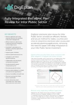 DigEplan Infor Datasheet